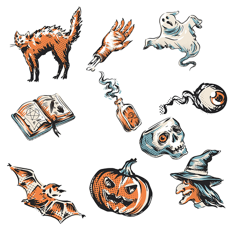 Stickers pack 18