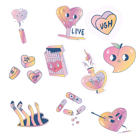 Stickers Pack 20