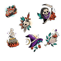 Stickers Pack 28