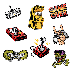 Stickers Pack 30