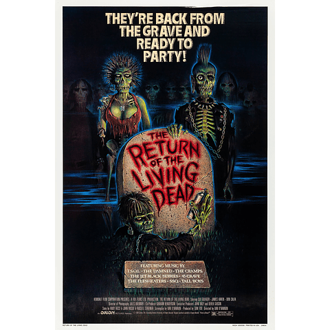 Poster: The Return Of The Living Dead