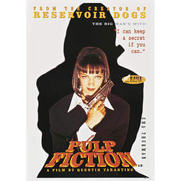 Poster: Pulp Fiction -