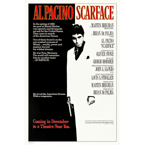 Poster: Scarface