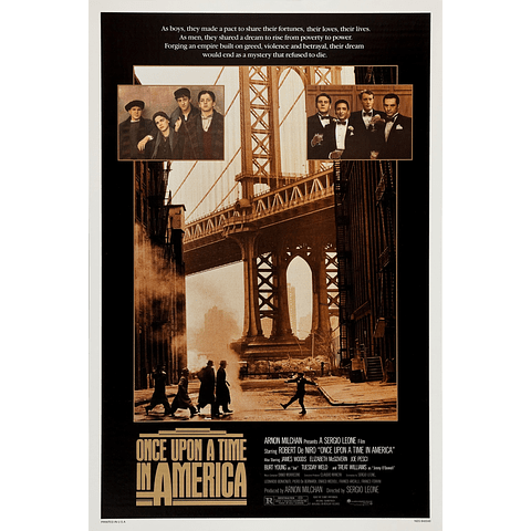 Poster: Once upon a time in america