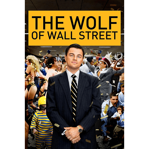 Poster: The Wolf Of Wall Street