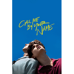 Poster: Call Me By Your Name