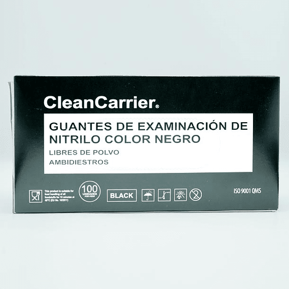 Guante nitrilo negro Clean Carry- Image 2