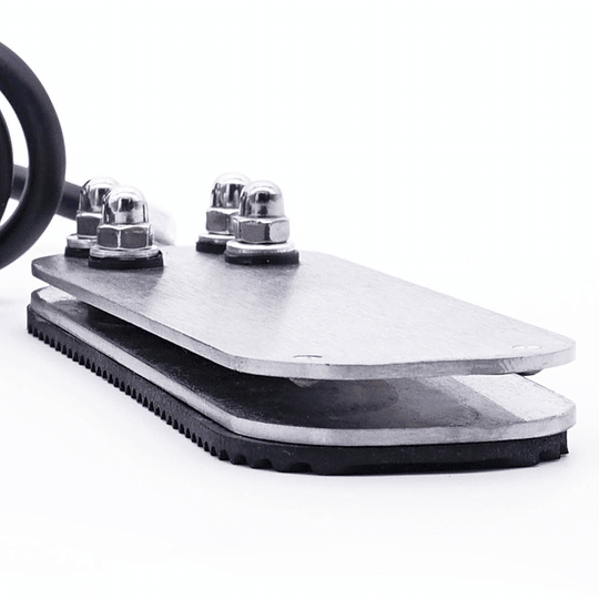 Pedal metálico básico 2 metros