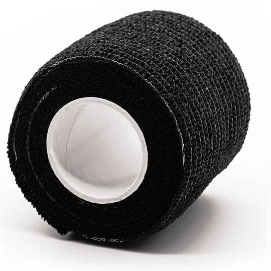 Cinta Cohesiva Negra 5cm ancho