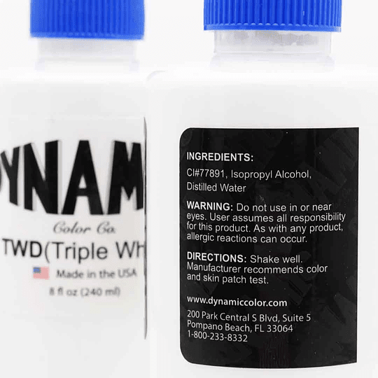 Tinta Dynamic Triple White 8oz