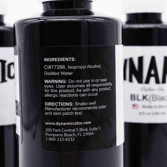 Tinta Dynamic Black 8oz