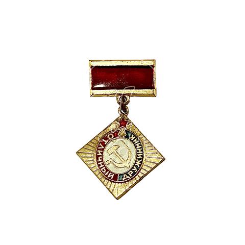 "Pin Soviético ""Excelente Druzhinnik"""
