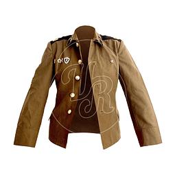 Chaqueta de traje militar soviético original