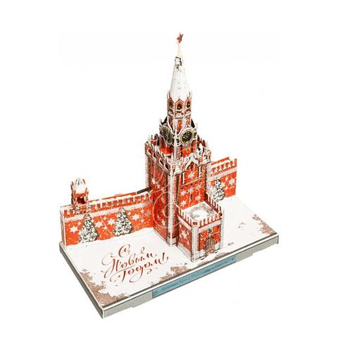 """Puzzle 3D """"Torre Spasskaya"""""""