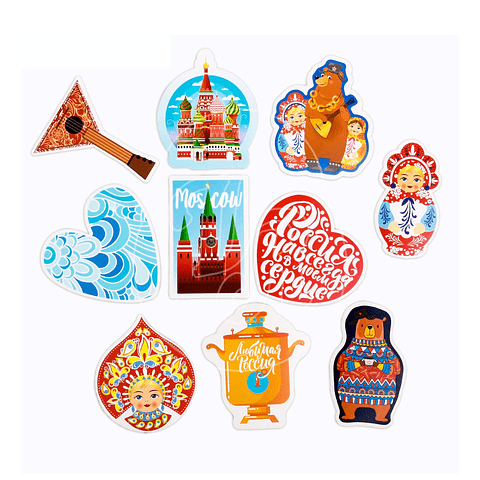 Stickers para maleta