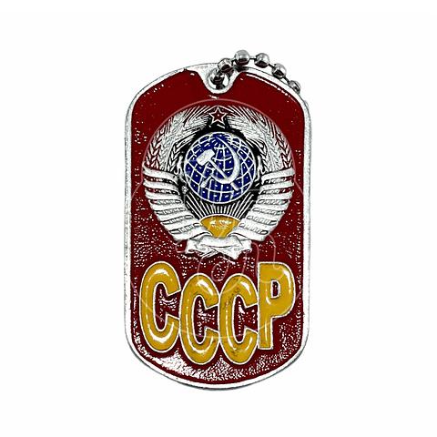 """Colgante chapa """"URSS"""""""