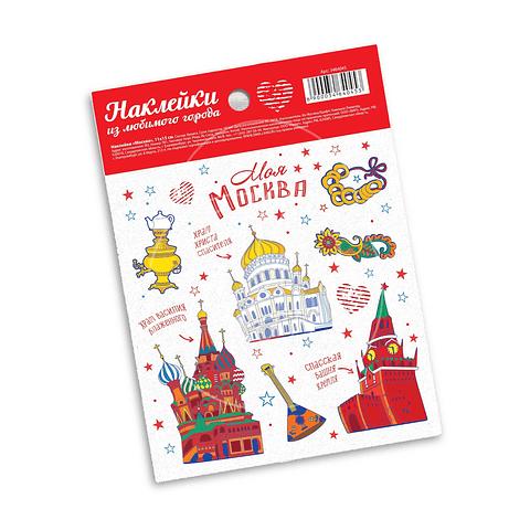 "Stickers ""Moscú"""