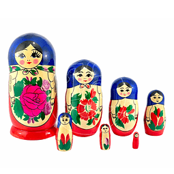 Matrioshka 7 piezas