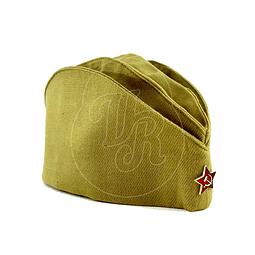 "Gorro soviético militar ""Pilotka"""