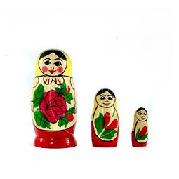 Matrioshka 3 piezas