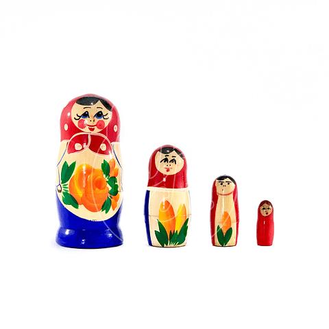 Matrioshka 4 piezas