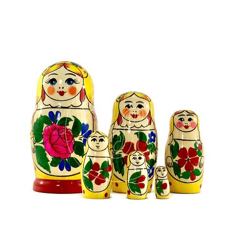 Matrioshka 6 piezas