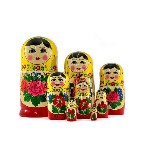 Matrioshka 8 piezas