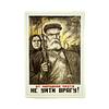 Afiche Soviético La Venganza