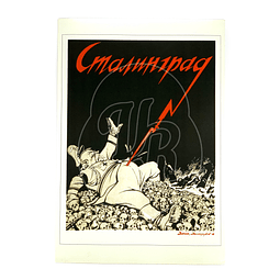 Afiche Soviético Stalingrado