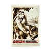 Afiche Soviético Hasta Berlín