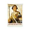 Afiche Soviético Fusil Antitanque