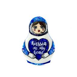 """Imán """"Matrioshka Astronauta"""""""