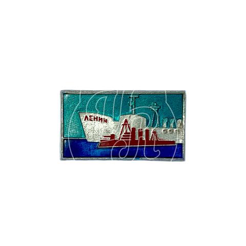 "Pin Soviético ""Rompehielos Lenin"""