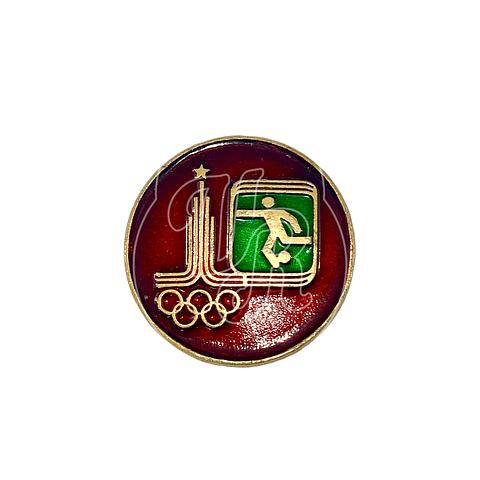 """Pin Soviético """"Juegos Olímpicos 1980"""""""