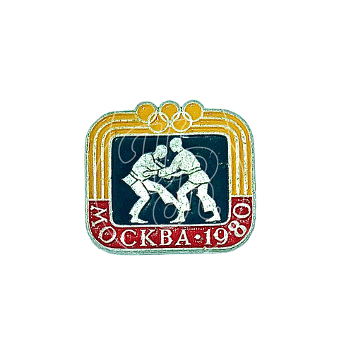 "Pin Soviético ""Moscú 80"""