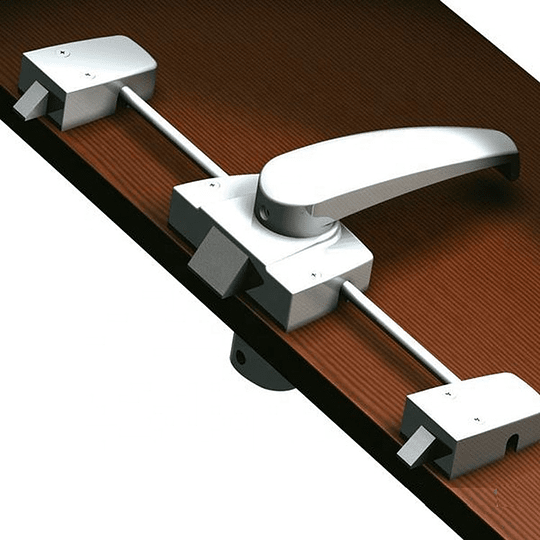 Cerradura con triple seguro para puertas