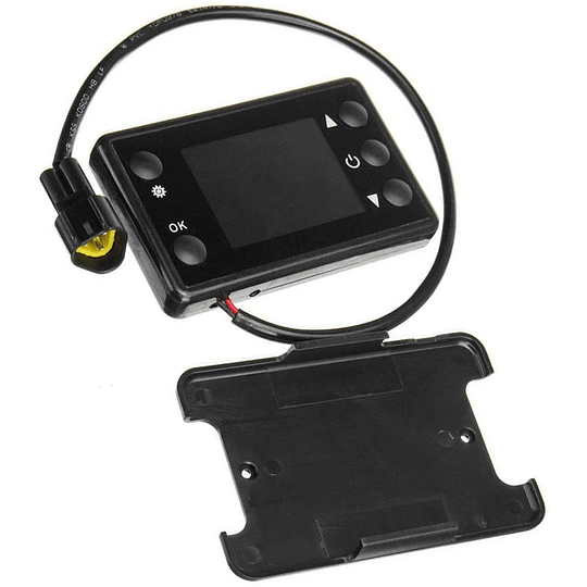 Control LCD para calefactor diesel 12V