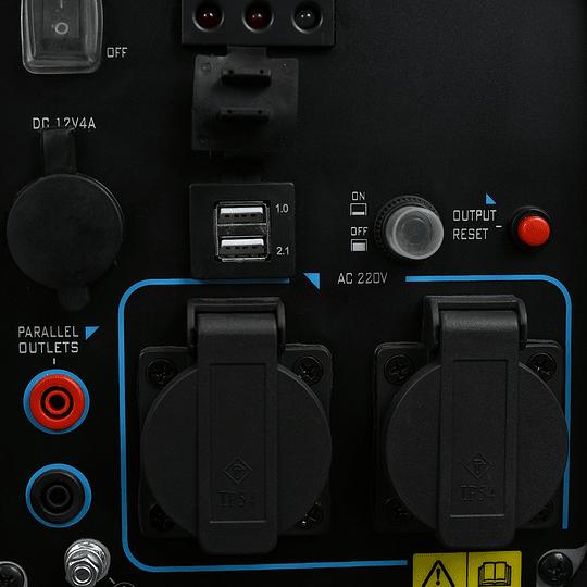 Generador 2200W inverter eléctrico digital de onda pura