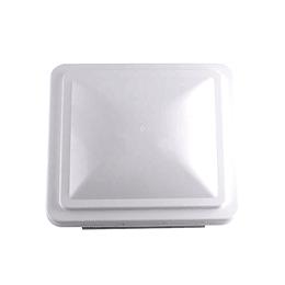 """Tapa de claraboya tipo Ventline color blanco 360x360 mm (14x14"""")"""