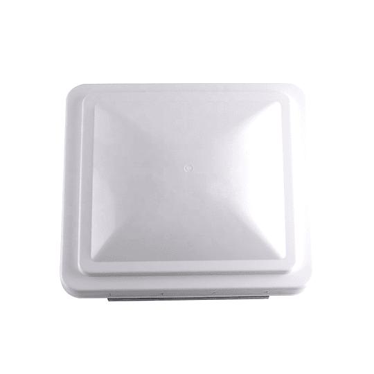 Tapa de claraboya tipo Ventline color blanco 360x360 mm (14x14