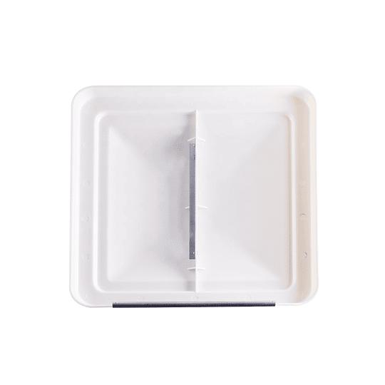 Tapa de claraboya color blanco 14x14