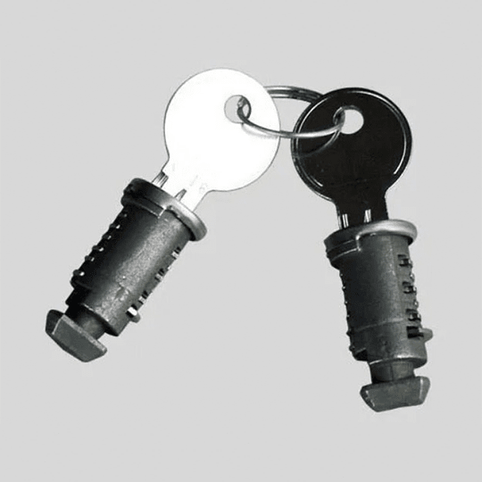 Set de 4 chapas de seguridad antirobo Thule