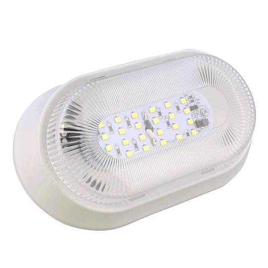 Foco LED 12V para exterior blanco