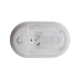 Foco LED 12V con interruptor blanco