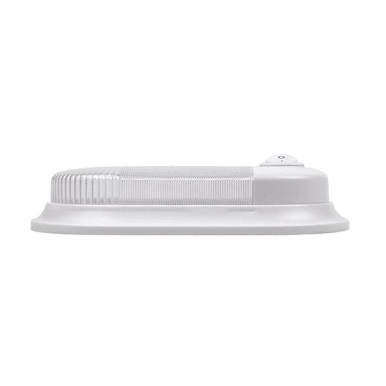 Foco LED 12V con interruptor blanco