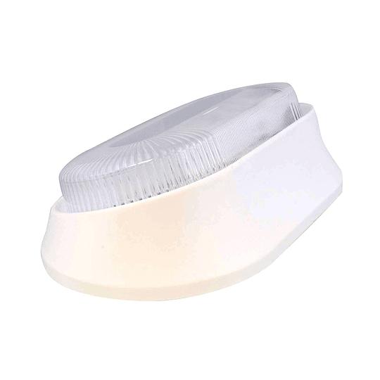 Foco LED 12V para exterior negro