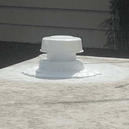 Ventilación para baño tipo gorro de ventilación