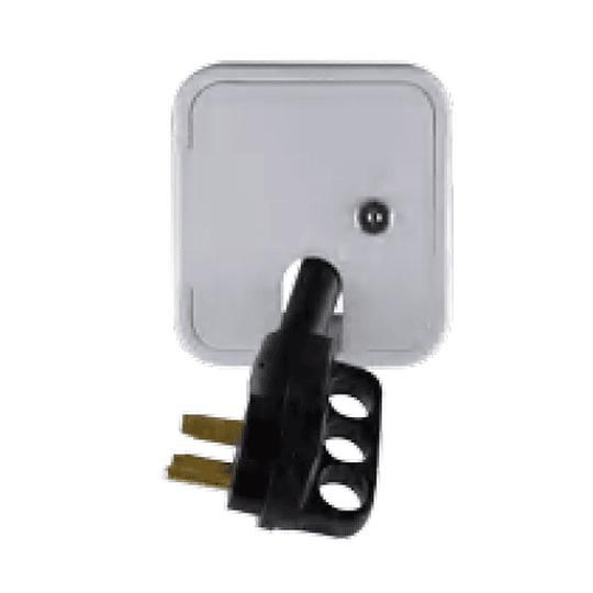 Compuerta pequeña para cable tomacorriente exterior 30amp 220V