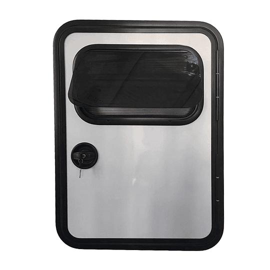 Puerta derecha (copiloto) para minicamper, teardrop, trailer, carro de arrastre