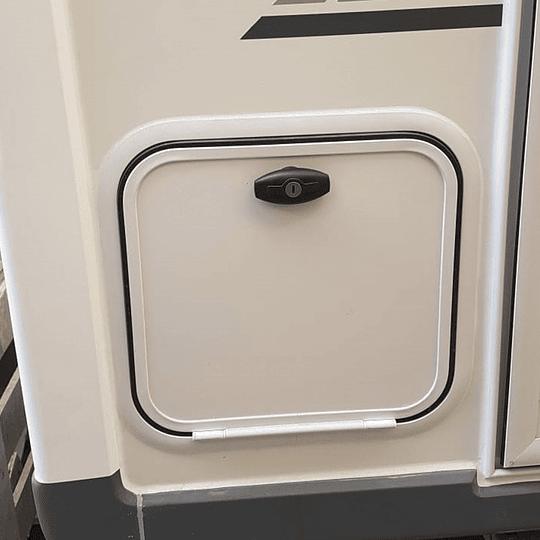 Cerradura con tirador ergonómico impermeable con llave